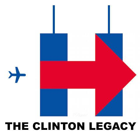 Tweeters Turn Hillary Clinton Campaign Logo Into Bizarre 911