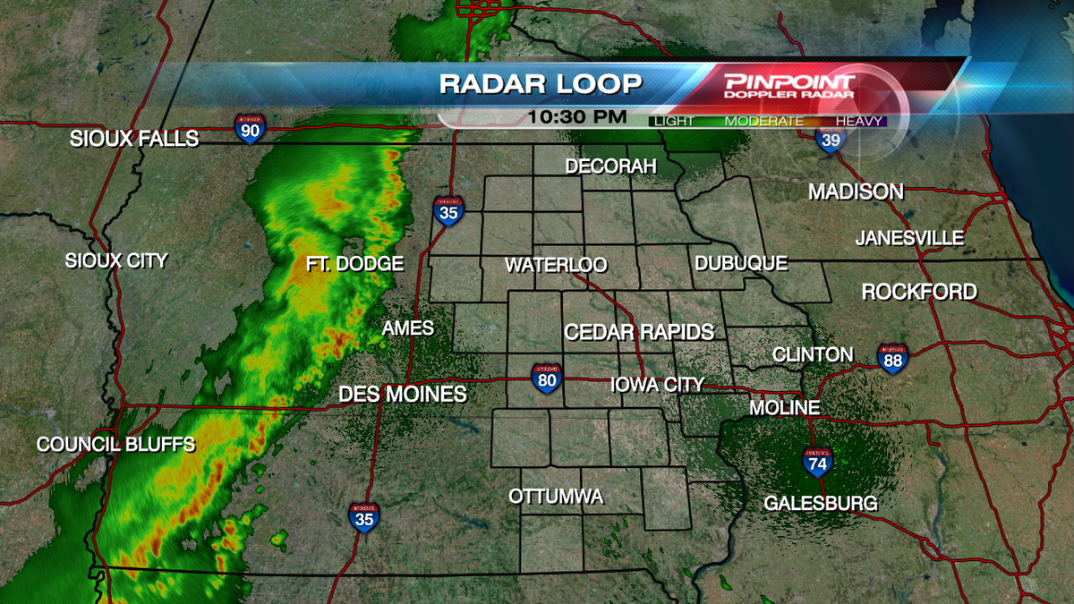 Kcrg Tv9 First Alert Weather On Twitter A Check On Pinpoint