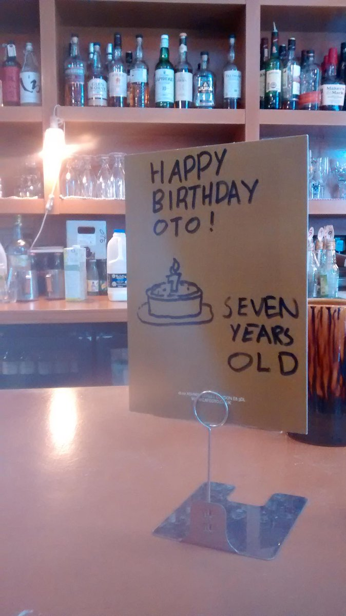 Cafe Oto - 7 years old today http://t.co/cGGQQkSacj