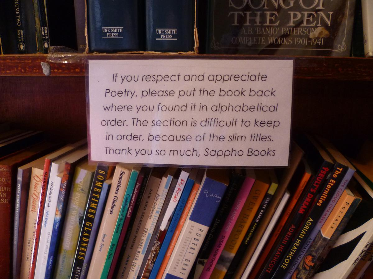 The real truth about the poetry section. http://t.co/QdgJAxgv56