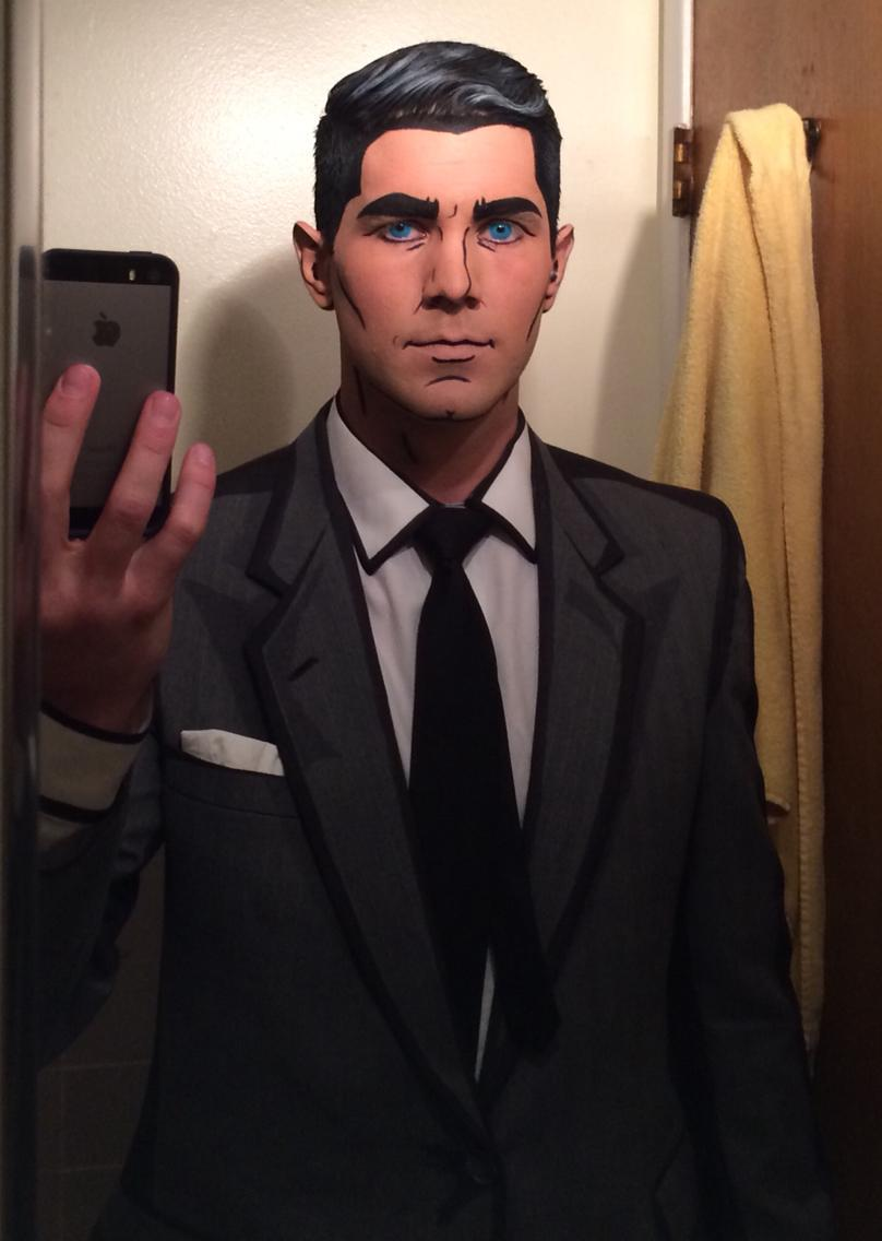 This Archer cosplay is eerily accurate http://t.co/dOEX6DLJ2K