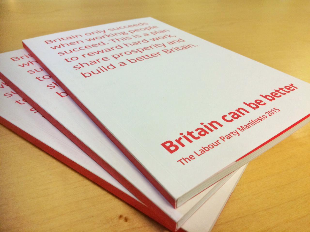 Labour launches its General Election Manifesto