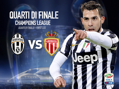 Come vedere Juventus-Monaco in tv e in streaming, questa sera