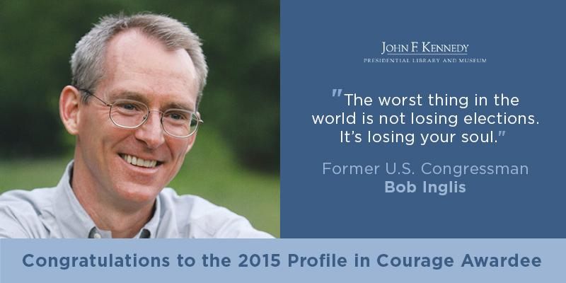 Thumbnail for Bob Inglis Receives 2015 Profile in Courage Award