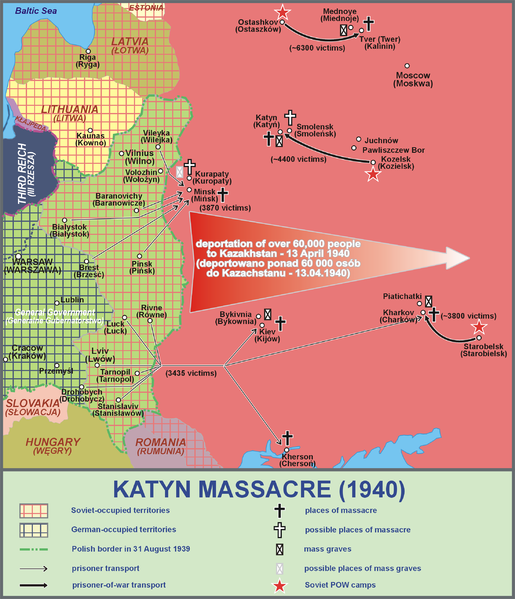 #OnThisDay in 1990, the Soviet Union officially admits responsibility for 1940 Katyn Massacre. #coldwarhist http://t.co/3PoeiC6oU9