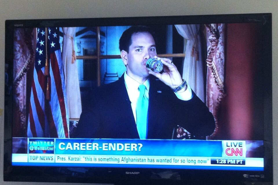 Remember CNN declared Marco Rubio's career over in 2013?