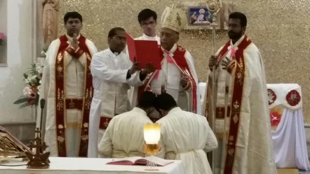 Blessed moment in attending the #Diaconate & #MinorOrders of #Syromalabar #Seminarians at #Materecclesiae #Romepic.twitter.com/h0aCQZUCju