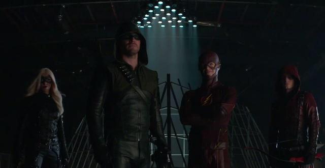 """""""That's how it's done.""""  #TheFlash #Arrow @amellywood @grantgust  #Firestorm   https://t.co/3HUStgsyxs http://t.co/gzTRRHWYeB"""