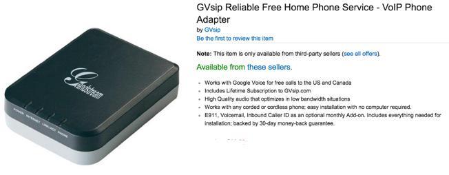 DEAL - GVsip Grandstream ATA $14 99   PIAF - Your own Linux-based PBX