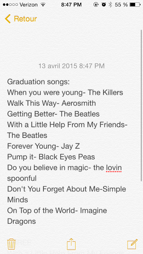 senior class of 2015 on twitter graduation songs we will pick 3