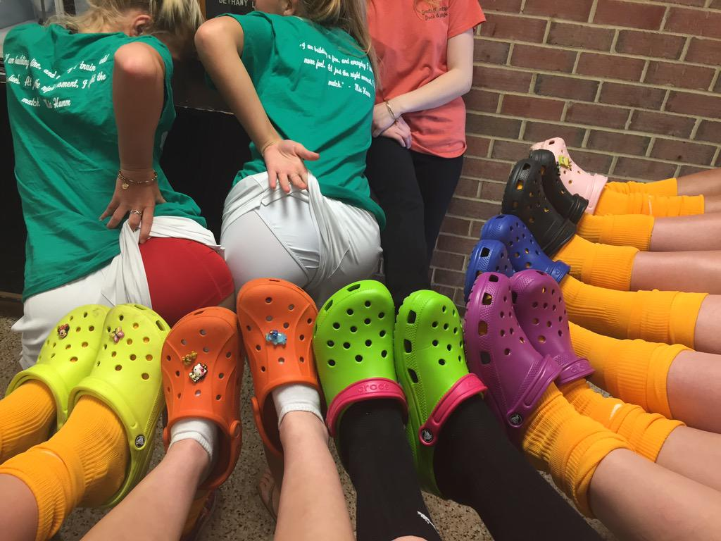 The obvious choice was to have sex with the crocs on