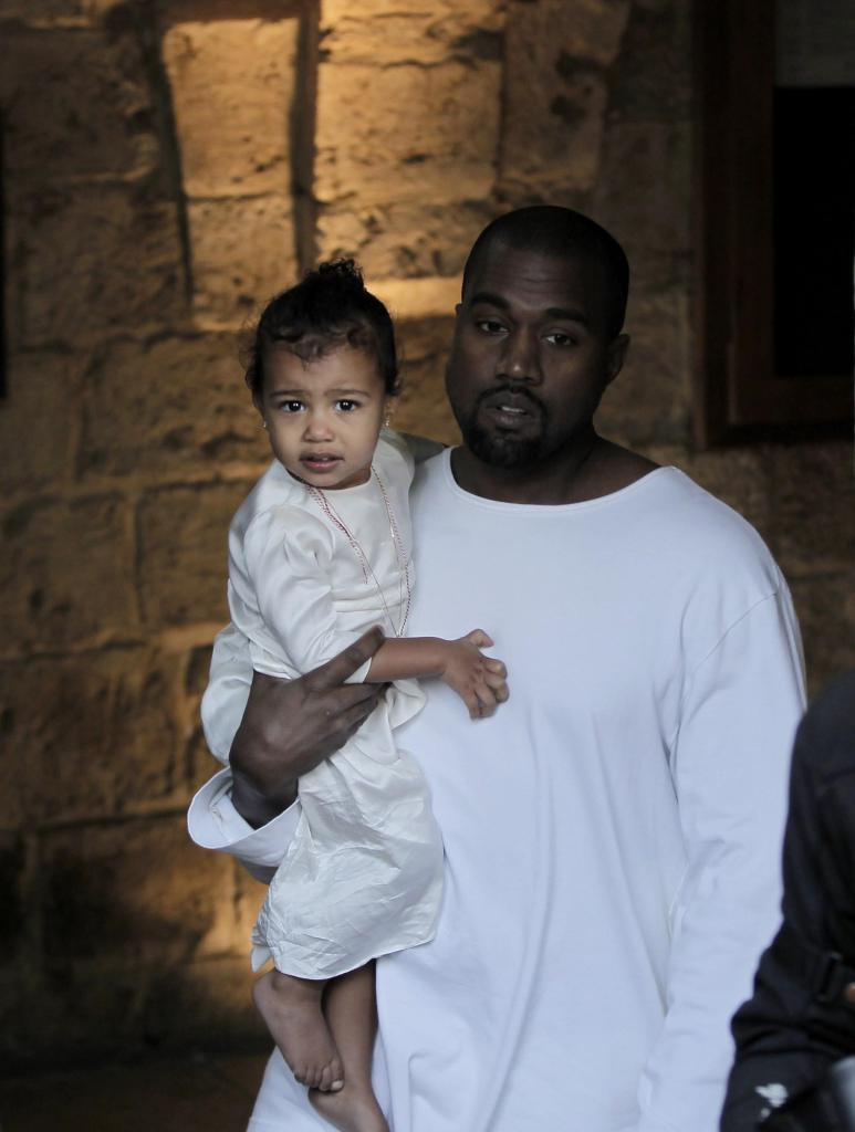 RT @GlobalGrind: North West got baptized in Israel today http://t.co/xjwGtSuZFF http://t.co/M8WoWfHLa9