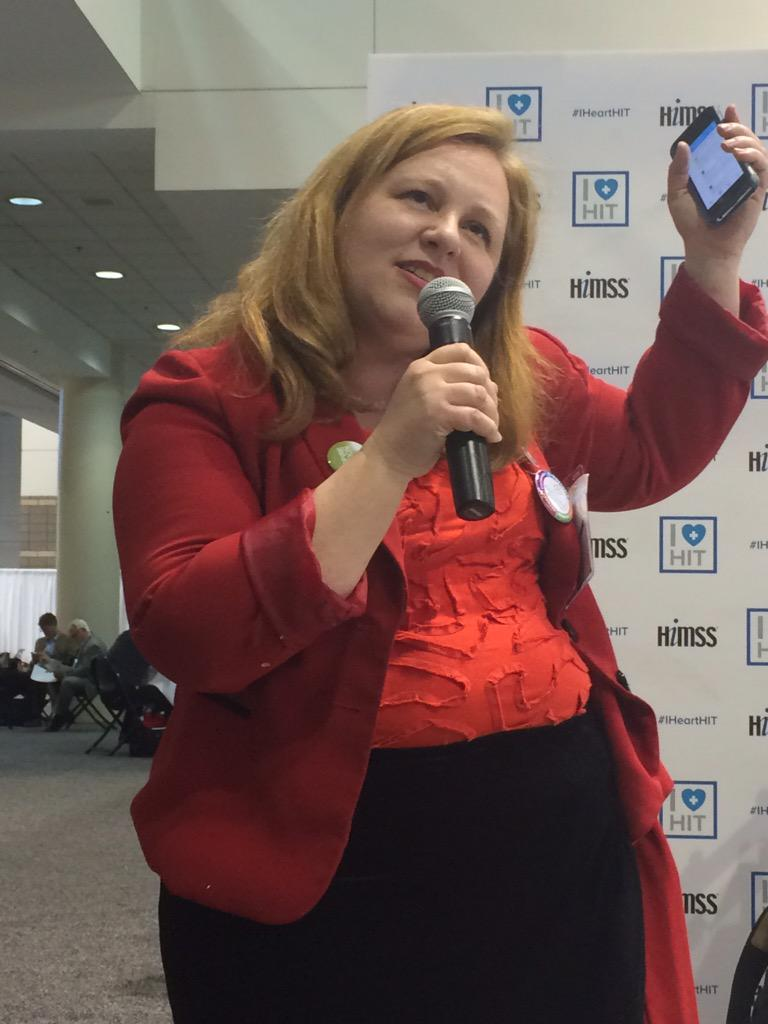 Patients want access to their health records #ihearthit #himss15 . @ReginaHolliday #word! http://t.co/sskoNlZCWp