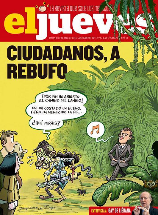 """Bernat on Twitter: """"Esta portada de El Jueves me pareix genial http://t.co/eVXTVwbf7U"""""""