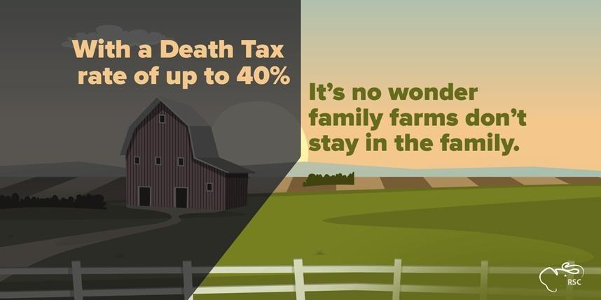 The death tax kills family-owned businesses and weakens the U.S. economy. It's time for #DeathTaxRepeal. http://t.co/kB7cM21QtR