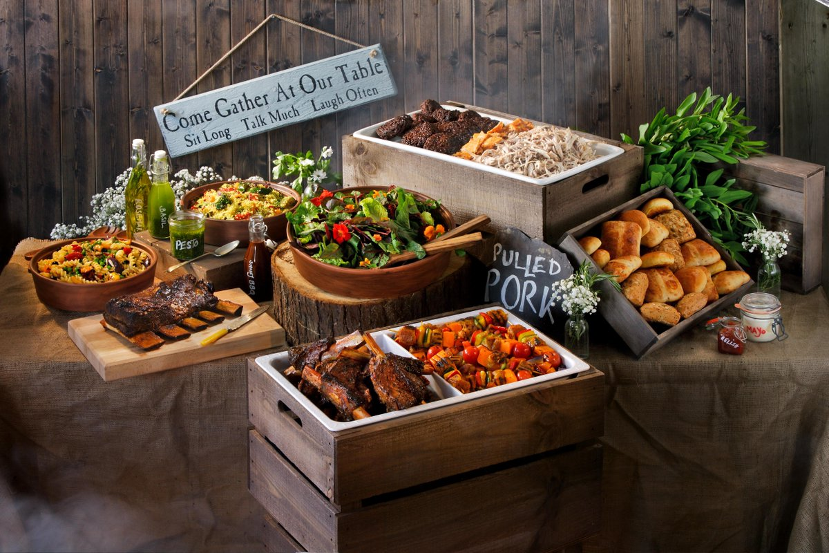PenniBlack On Twitter Gorgeous Rustic BBQ Buffet Launching Our New Innovative Wooden Hot Boxes Tco X2zch9CqP1