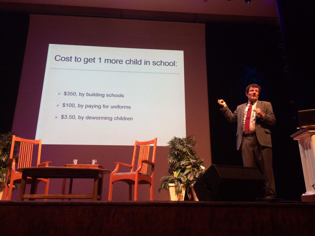 The cost to get one more child in school. #EtownWare http://t.co/tIn2VrD9RI