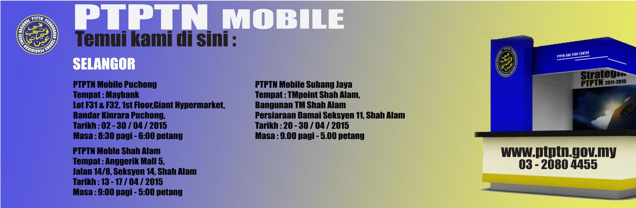 Ptptn On Twitter Ptptn Mobile Sekitar Selangor Http T Co Lad3tcxtuf