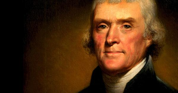 Image result for photo of thomas jefferson
