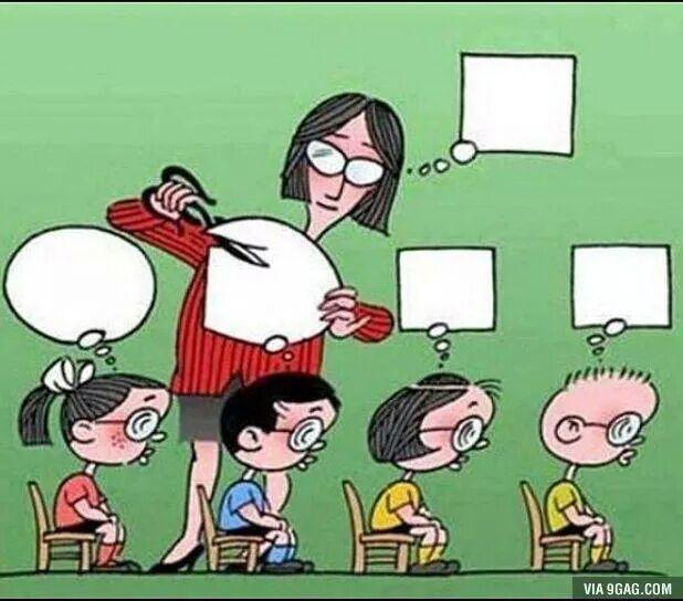 인터넷을 떠돌아 다니다가 찾은 짤이지만 이게 왠지 우리나라의 교육제도의 실태를 잘 보여주는것 같다 http://t.co/5P0RnuPIWc