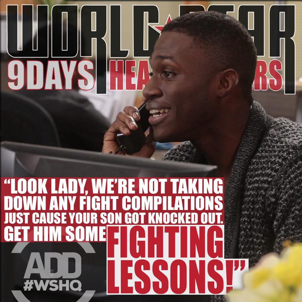 RT @AllDefDigital: 😂😂😂 We're having some fun on this season of #WSHQ w/ @WORLDSTAR. http://t.co/WCfvD6iwz8
