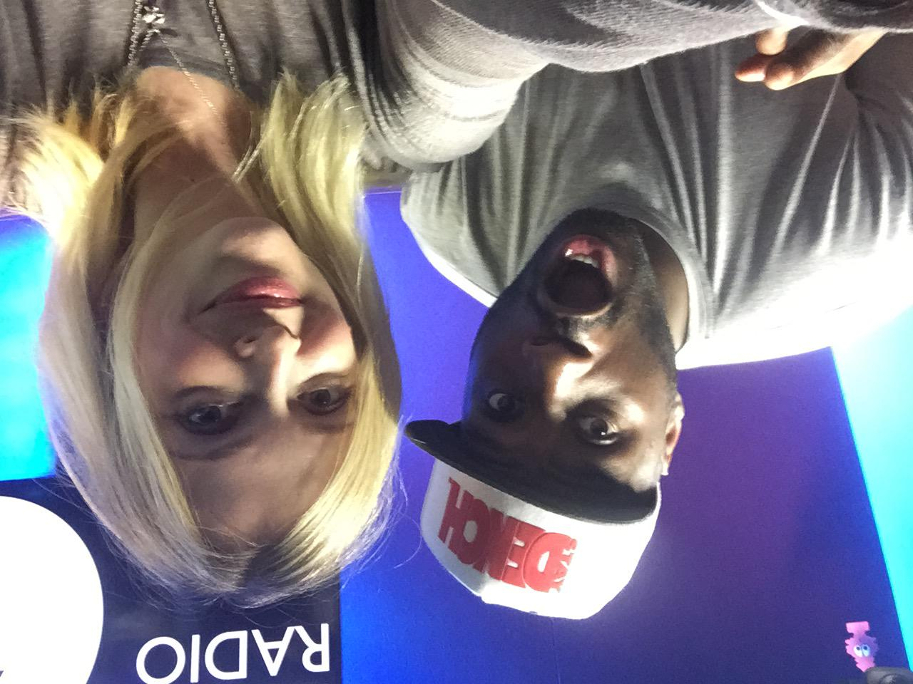 In the live lounge today #R1lethalB #dench http://t.co/za5ISPN42Y