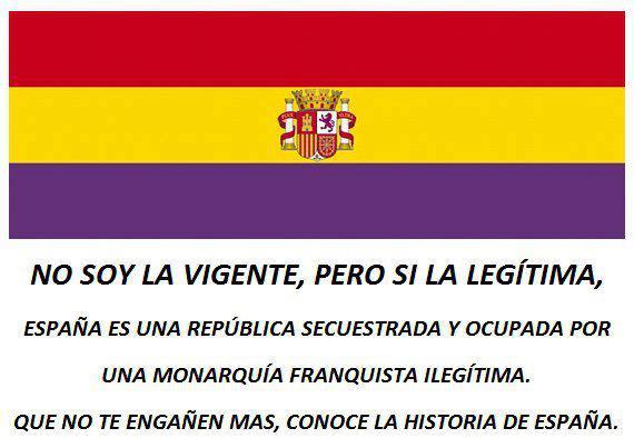 #14AVivaLaIIIRepublica #14deAbril No es la vigente, pero si la legitima. http://t.co/de4GGf1BtG