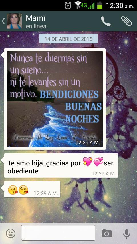 Los mensajes moxos y cursis de mi mamá jaja la amo 😘 http://t.co/7sRvuOazav