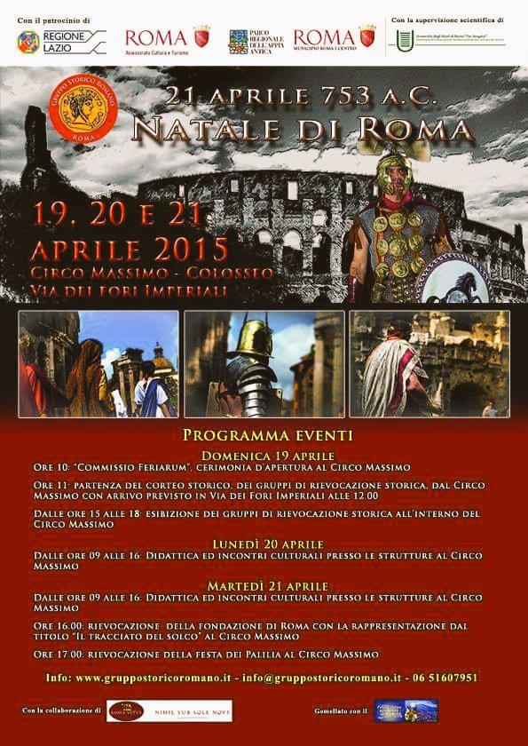 21 Aprile Natale di Roma