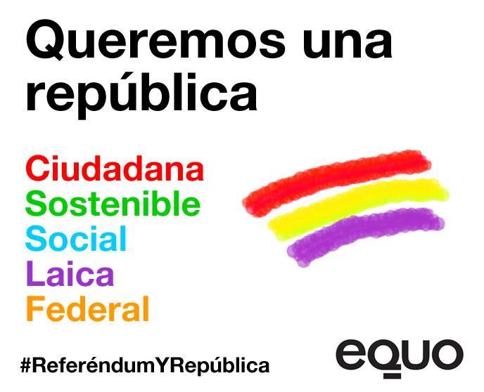 No es solo una cuestión de ser una república, sino que cómo queremos que sea... #ReferendumYRepublica #14deabril http://t.co/JNC6quFr0n