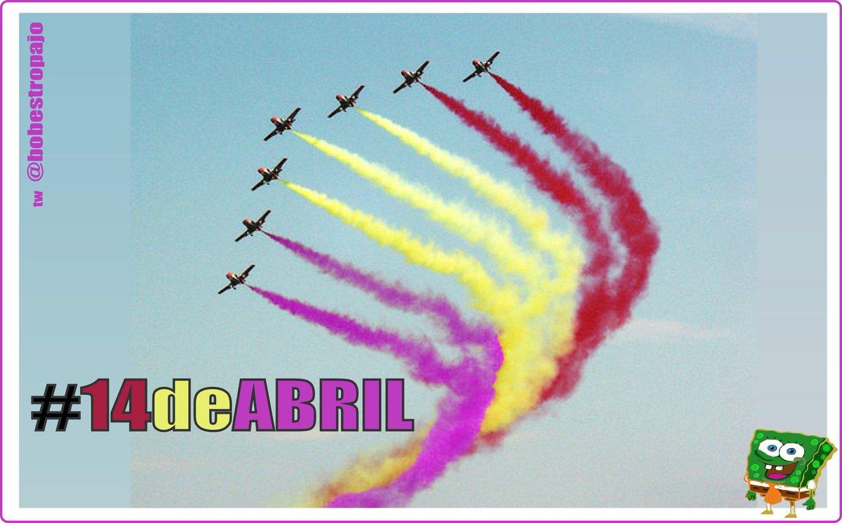 Día #14deAbril y que #VivaLaRepublica http://t.co/PofvprUEDX