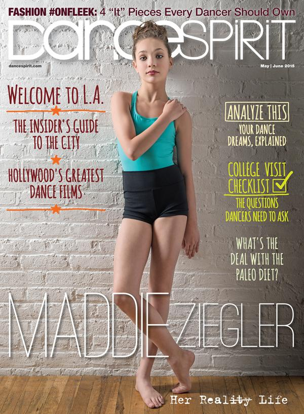 We're so excited to have @maddieziegler on our May/June 2015 cover! (PC: Lucas Chilczuk) #maddieziegler #mayjunecover http://t.co/n1wHGOjWkM