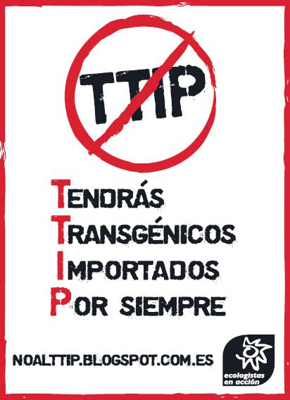 Tendrás Transgénicos Importados Por siempre (TTIP). El tratado que nos intentan colar les abrirá la puerta #YoVoy18A http://t.co/sf6tibTdRe
