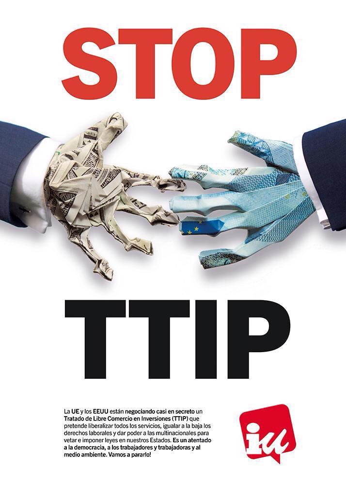 Un tratado Vampiro que negocian en secreto contra nuestros derechos #NoAlTTIP #YoVoy18A http://t.co/PVtjVQvx6e