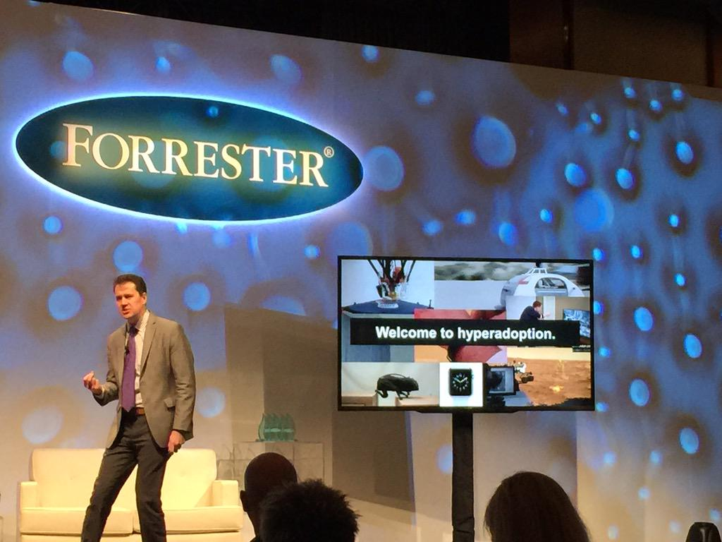 We are all early adopters now. Welcome to the era of hyperadoption. @jmcquivey  #FORRforum http://t.co/ehoodRxvQs