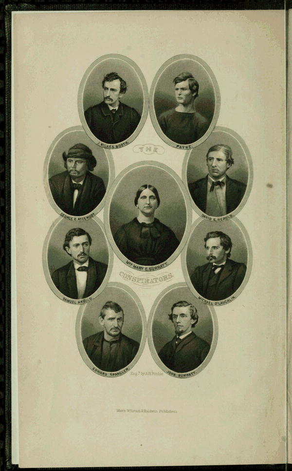 Lincoln was shot 150 years ago tonight. Here are the conspirators of his assassination. http://t.co/or5gpaOKCN http://t.co/JDfJQV2ciV