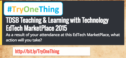 Thumbnail for TDSB EdTech MarketPlace 2015