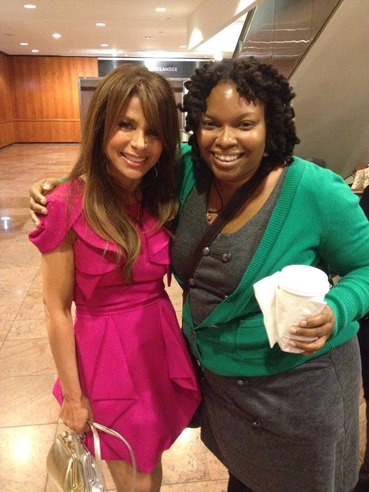 Thank YOU for taking a pic w/ me! Sending you love! xoP RT @Katuria7: @PaulaAbdul Thanks for being so nice in person. http://t.co/rNB83JhVMK