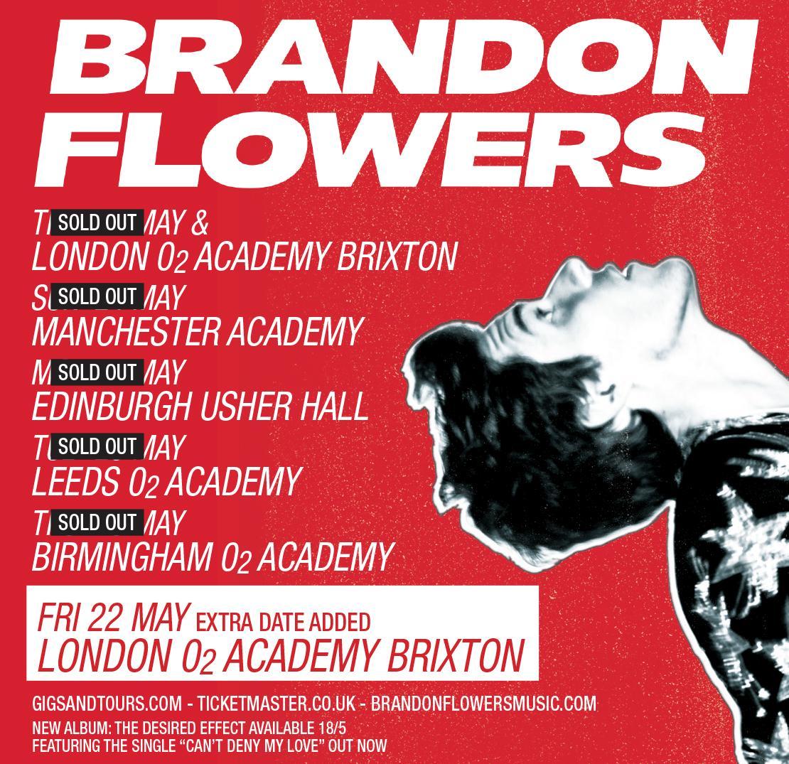 Brandon Flowers BrandonFlowers