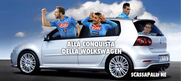 Wolfsburg-NAPOLI orari Streaming: info Diretta TV Live su Canale 5 Sportmediaset