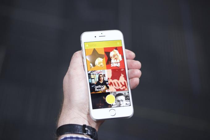 Kong, l'app per creare GIF con i selfie