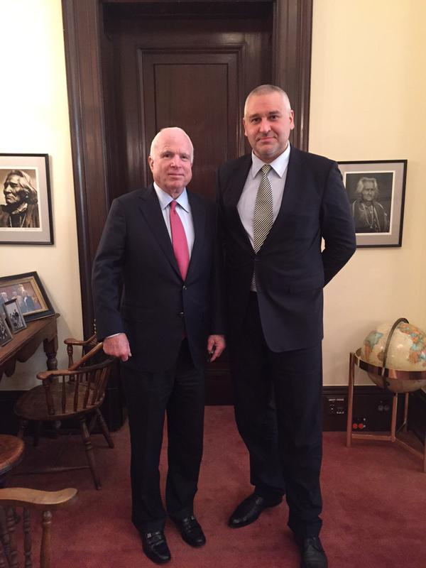Image result for john mccain mark feigin photo