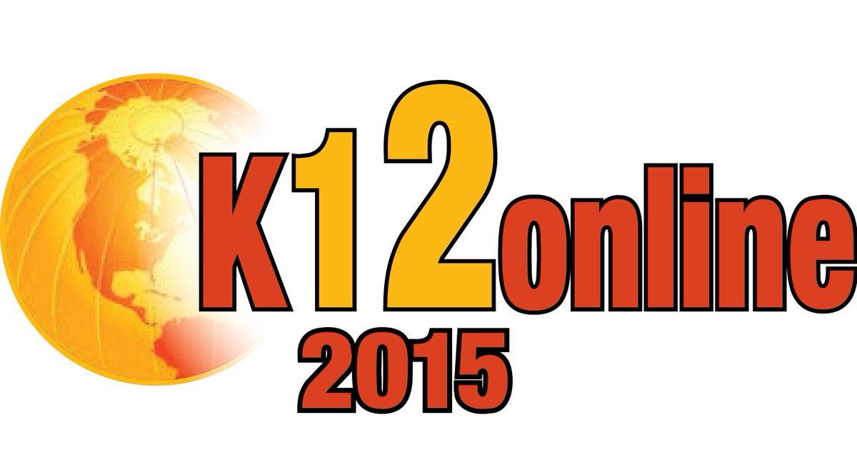 K12 Online Conference 2015 Presenter