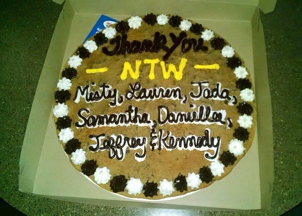 Samantha Kaythe On Twitter The Awesome Cookie Cake The Police