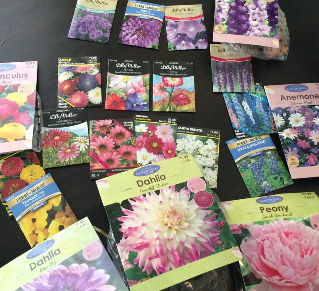was depressed so I bought a few flower seeds. really depressed. now I need some more yard. http://t.co/xQlssDw7zR