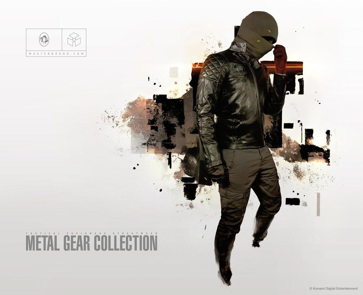 Konami Auf Twitter Limited Edition Mgsv Big Boss Leather