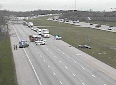 Traffic alert: accident on southbound i-75 at union centre blvd is