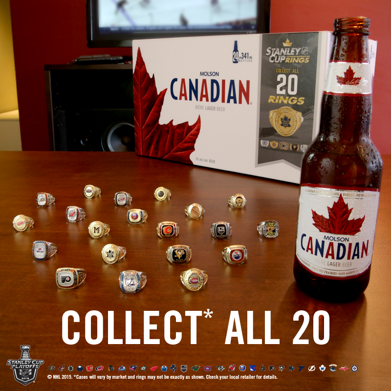 Molson Beer Rings