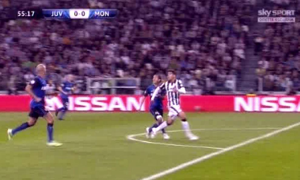 Juve-Monaco 1-0, polemica per il rigore concesso dall'arbitro ai bianconeri