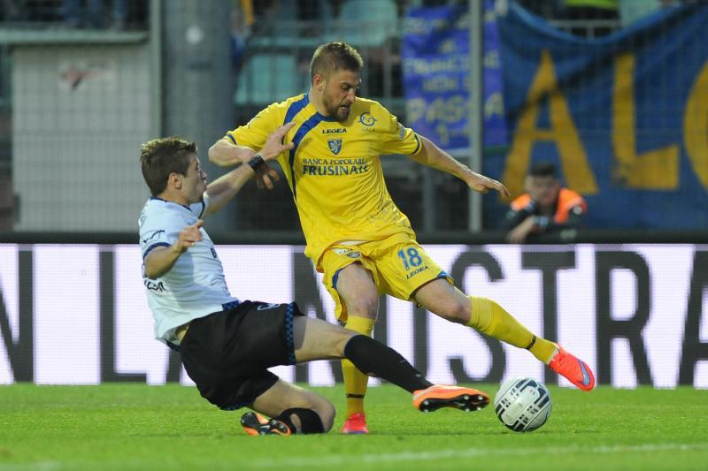 Ristovski makes a sliding challenge